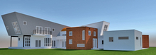 Architect Jeff Swanson, architectural rendering, Richard Nielsen, 3-d, contemporary architecture